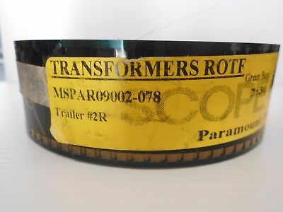 Transformers Revenge Of The Fallen 35mm Film Trailer