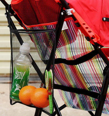 Pram Pushchair Stroller Cup Bottle Drink Food Holder Storage Bag Organiser