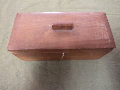#pp.   1969  Epping Boys High School, Third Year - Hand Made Wooden Box