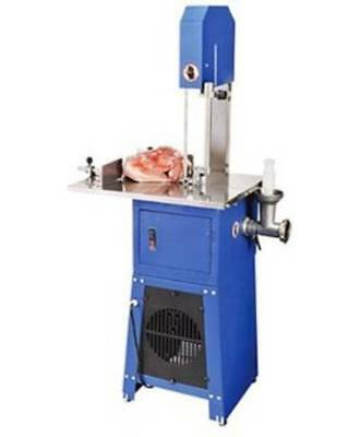 MEAT CUTTING BANDSAW WITH MINCER 10 INCH STAINLESS STEEL Part No. = BSMC10