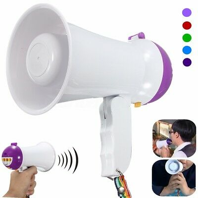 5W Mini Foldable Megaphone Microphone Horn Bull Loud Speaker Amplifier Bullhorn