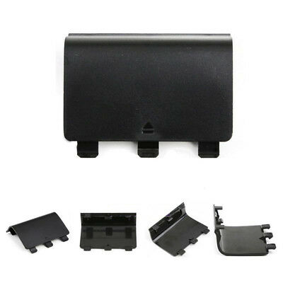2PCS Black Battery Cover Door for Microsoft Xbox One Wireless Controller Gamepad