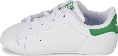 sports shoes 1c0e7 369b3 Scarpe sportive bambini Adidas STAN SMITH Crib bianco in pelle B24101