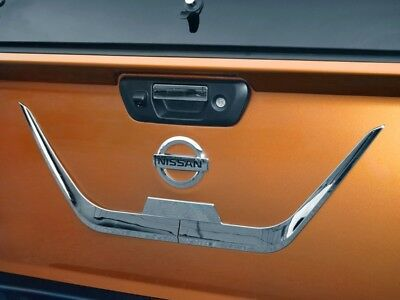Nissan Navara NP300 2016 On Chrome Trim Tailgate Styling