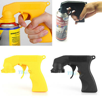 Automotive Aerosol Spray Painting Can Gun Handle With Full Grip Trigger
