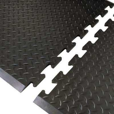 "Antifatigue Mat,Black,3ft. x 2ft. 7"" NOTRAX 545M3631BL"