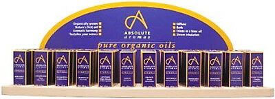 ABSOLUTE AROMAS 12 BLENDS PACKAGE ESSENTIAL OILS DISPLAY AROMA THERAPY 36 x 10ml