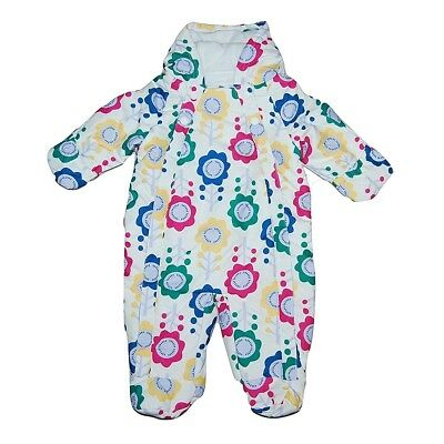 Baby Girl All In One Pramsuit Snowsuit Winter Coat 0-3 3-6 6-9 12-18
