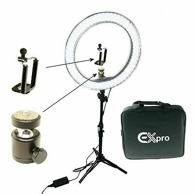 Dimmable Diva 50W 48cm LED Studio Ring Light Beauty Make Up Selfie Video Photo