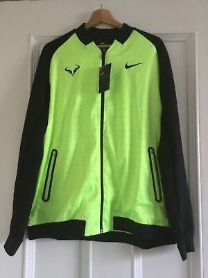 Mens NikeCourt RAFA NADAL Tennis Jacket Size Large