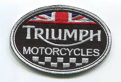 Triumph Motorcycles England Patch (Pwp003)