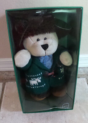 Starbucks 2016 Home for the Holidays Bearista Boy Bear Limited Edition NEW
