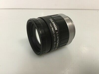 Fujinon HF12.5HA-1B Camera Lens C-Mount Focal Length: 12.5mm F1.4-F16 *Detail