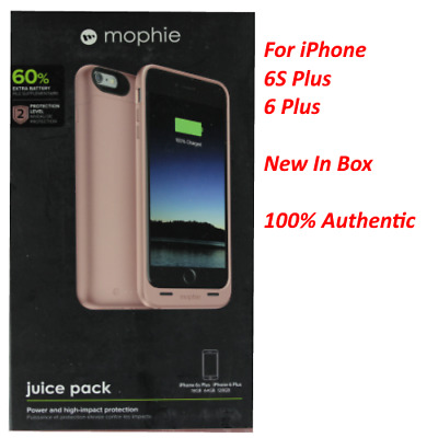 Mophie juice pack Battery Case for iPhone 6s Plus / 6 Plus (2,600mAh) Rose Gold