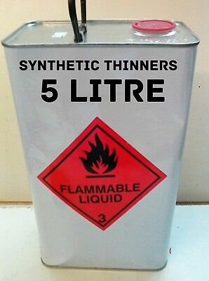 Synthetic 1K General Purpose Thinners 5 Litre Tin