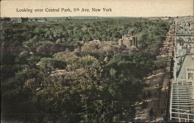 Map of Central Park Zoo The Pool Carousel etc Postcard Manhattan New York City