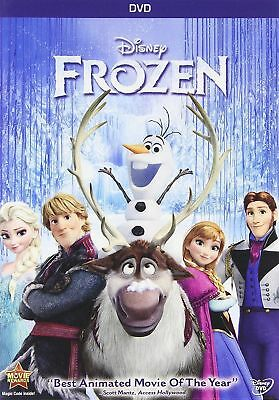 Frozen (DVD NEW, 2014) Animated, Kids, Family, Adventure NOW  SHIPPING !