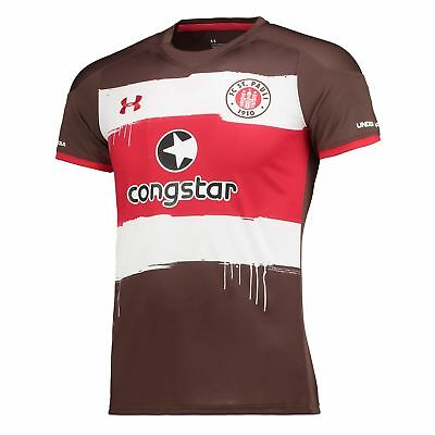 St Pauli Football Home Shirt 2017 18 Womens Under Armour