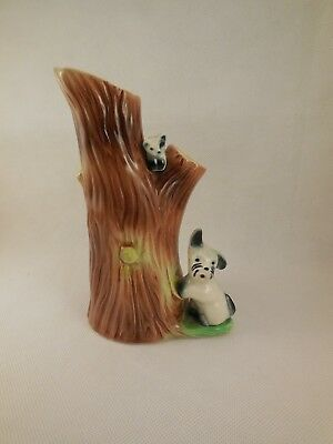 Eastgate Pottery 904 Vase with Scottie Dog Vintage Collectable