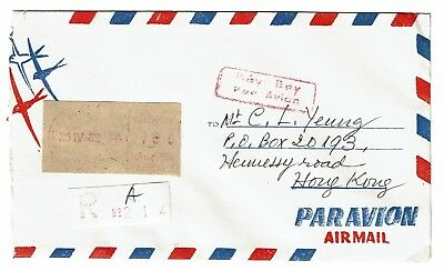 Vietnam 1982 Stampless Cover to Hong Kong - Z106