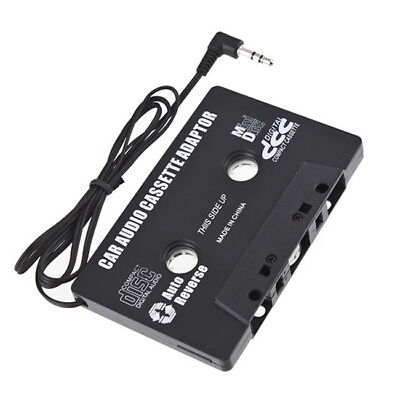 3.5 MM Audio AUX Car Cassette Tape Adapter Converter For iPhone iPod MP3 CD SG