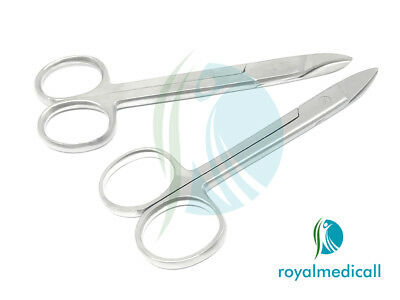 England Premier Toe Nail Scissors Clippers Podiatry Chiropody Str SS