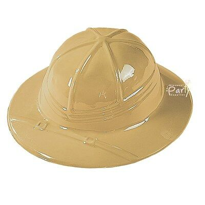 Safari Jungle Explorer Party Supplies 1 Childs Plastic Hat Australian Seller