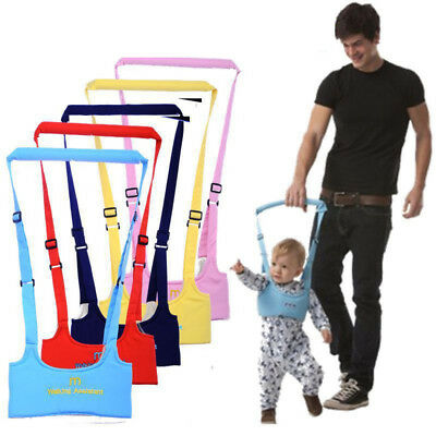 Baby Walker Assistant Harness Safety Toddler Belt Walking Wing Infant Kid Safe