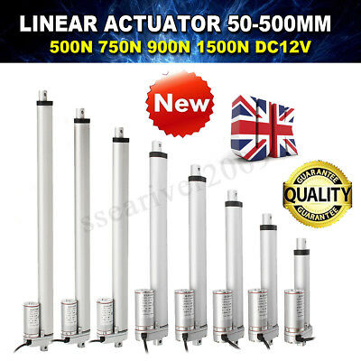 500/750/900/1500N DC 12V Linear Actuator Motor For Auto RV Electric Door Opener