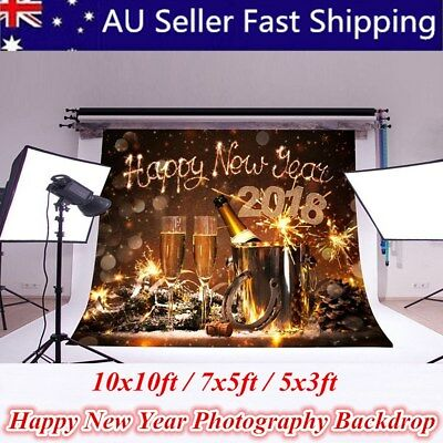 2018 Happy New Year Oktoberfest Photography Backdrop Show Studio Prop Background