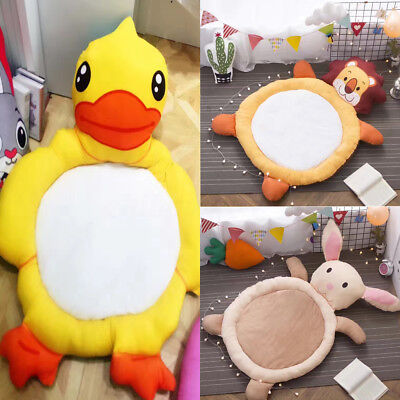Big Soft Baby Kids Game Gym Activity Play Mat Crawling Blanket Floor Rug Animals