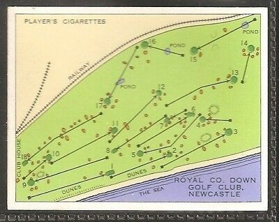 Players Large Card-Championship Golf Courses-#12- Royal Co. Down