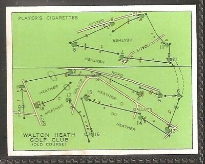 Players Large Card-Championship Golf Courses-#14- Walton Heath