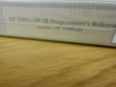 HP/Agilent 3589A HP-IB Programmers Reference (Includes HP 35689A/B) Loc: 948