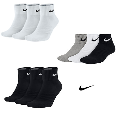 Nike Calcetines Cotton Cushion Tobilleros 3 pares ENVÍO GRATIS Paq72