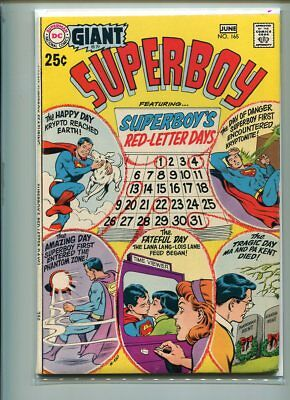 Superboy #165 Higher Grade Action Packed Cover Gem