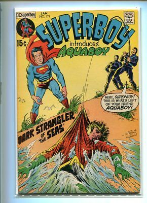 Superboy #171 Hi Grade Aquaboy App. Mournful Cover