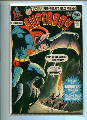 Superboy #178 Hi Grade Terrifying Cover White Pages