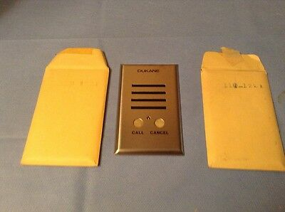 Dukane Face Plate Quantity 2 Model 110-1221 Call Cancel New In Package