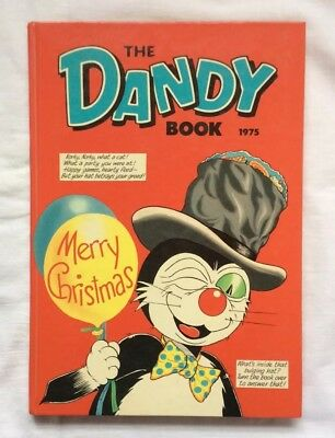 THE DANDY BOOK ANNUAL 1975...in excellent, bright condition.