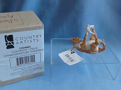 A Breed Apart #CAO4842 TABBY TINKERBELLE miniature Cat Country Artists Enesco