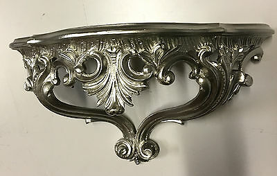 Wall Console Antique Silver Spiegelkonsolen Baroque/Wall Shelf 38x20 Neu3083