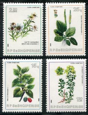 Albania 2137-2140 Mint Never Hinged (Nh), Flowers