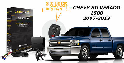 Flashlogic Remote Start for Chevy Silverado 1500  2010 Plug N Play T Harness