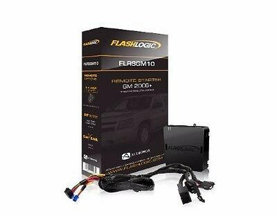 Flashlogic Remote Start for GMC SIERRA 1500 2500 3500 FLRSGM10 Plug N Play Wire