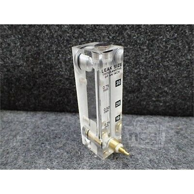 Dwyer 174186-50 Acrylic Flow-meter, Clear, 10-30 Thousandths of an Inch