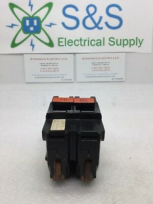 Fpe Federal Pacific Stab-Lok  Na270 70-Amp 2 Pole  Circuit Breaker Thick