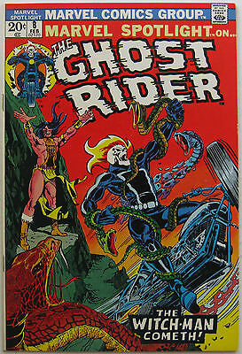 Marvel Spotlight #8 (Feb 1973, Marvel), VFN-NM, 4th appearance of Ghost Rider