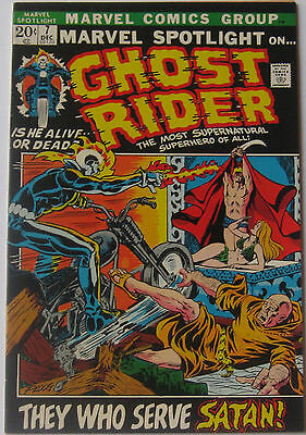 Marvel Spotlight #7 (Dec 1972, Marvel), VFN-NM, 3rd appearance of Ghost Rider