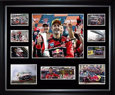 Jamie Whincup 2017 V8 Supercar Champion Limited Edition Framed Memorabilia